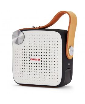 Aiwa BS-100BK Taşınabilir FM Radyo & Bluetooth Hoparlör