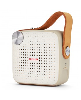 Aiwa BS-100GY Taşınabilir FM Radyo & Bluetooth Hoparlör