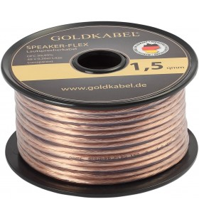 Goldkabel Speaker - Flex 2x1,50mm² Hoparlör Kablosu - 1Metre