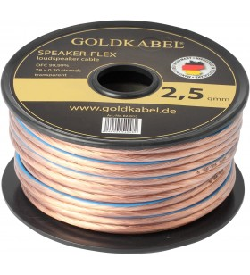 Goldkabel Speaker - Flex 2x2,50mm² Hoparlör Kablosu - 1Metre