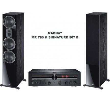 Magnat MR 780 & Magnat Signature 507B Stereo Müzik Sistemi